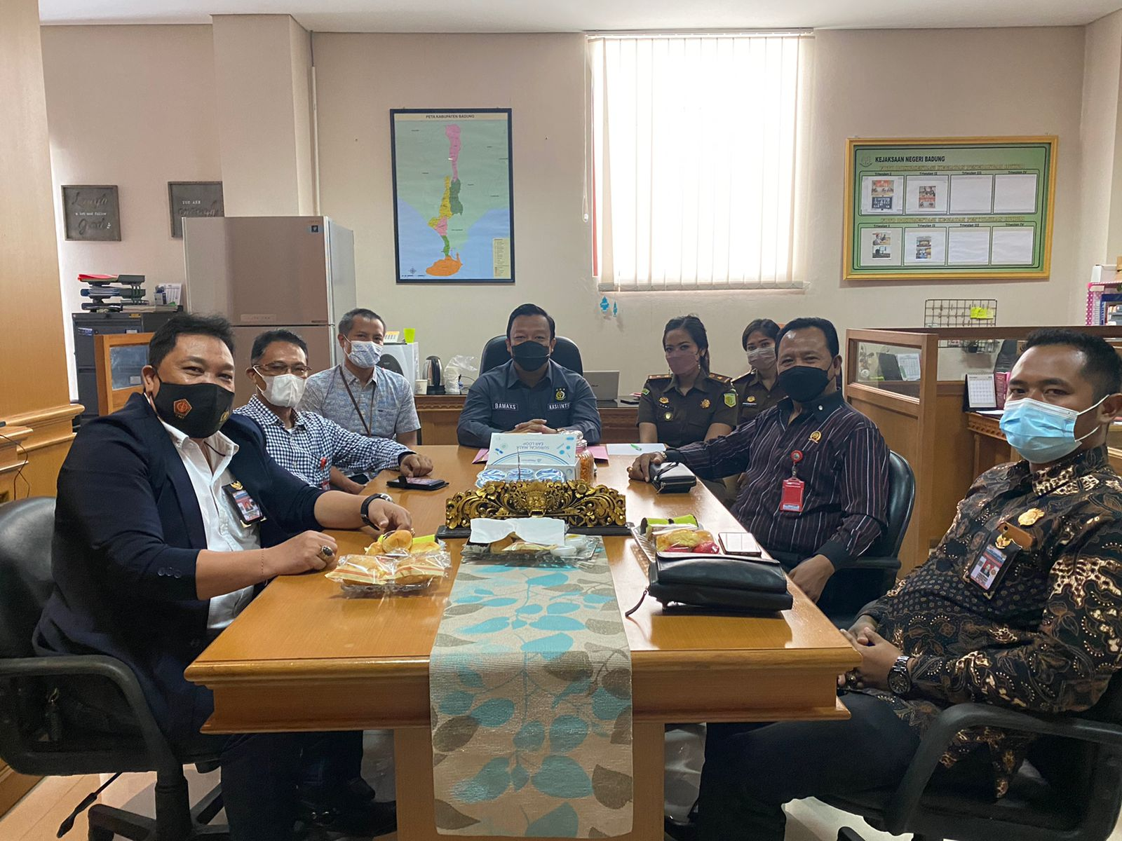 Kegiatan Audiensi dari Dewan Pimpinan Daerah Lembaga Aliansi Indonesia Divisi Barikade Khusus Distrik-88 Provinsi Bali