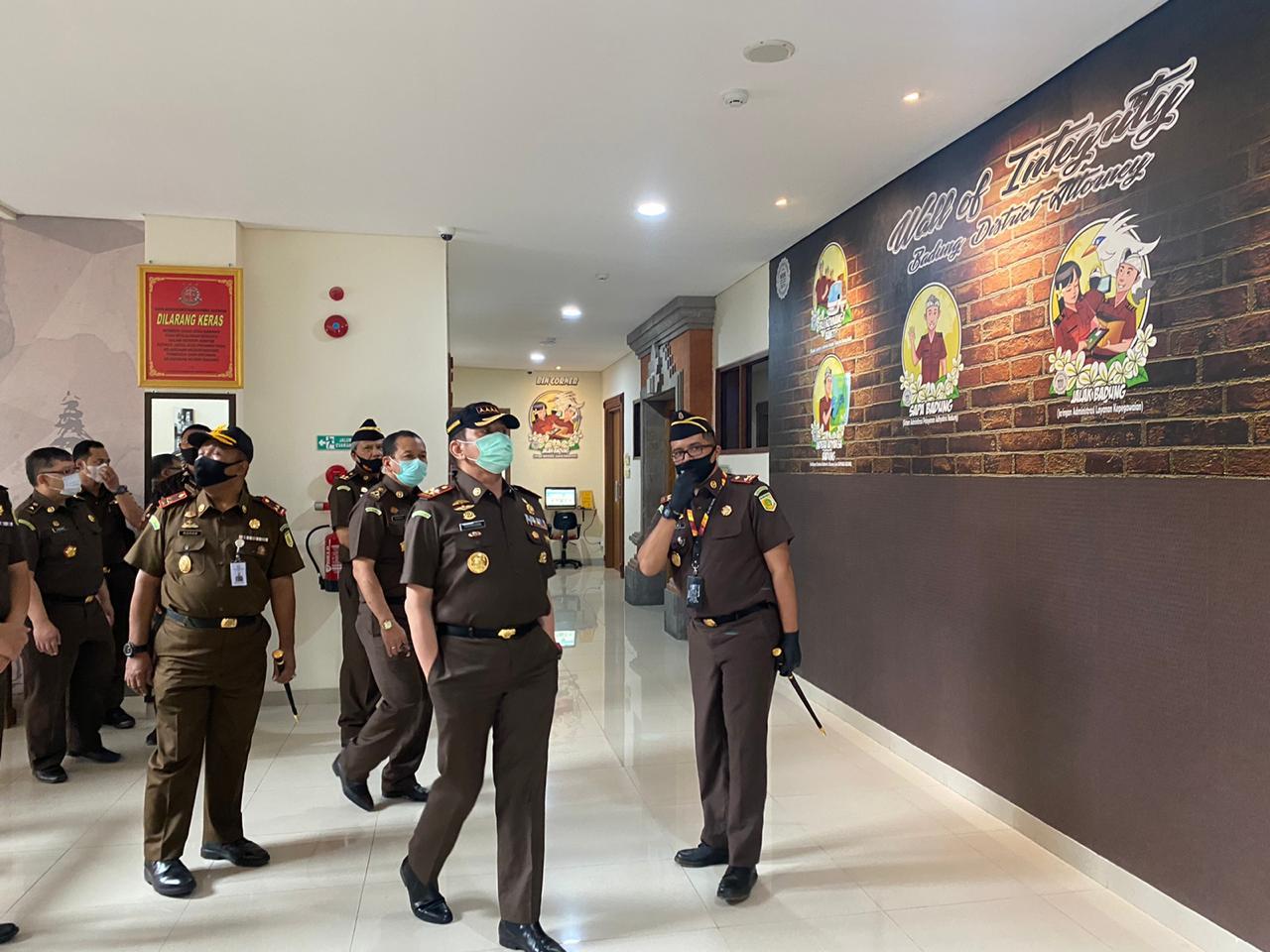 Kunjungan Jaksa Agung RI ke Kantor Kejaksaan Negeri Badung