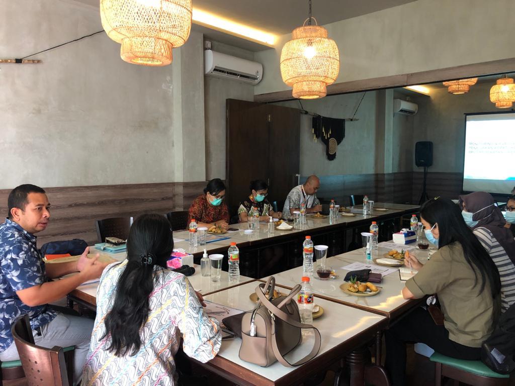 Monitoring dan Evaluasi Penegakan Kepatuhan BU serta SKK BPJS Kesehatan Cabang Denpasar bersama Tim JPN Kejari Badung