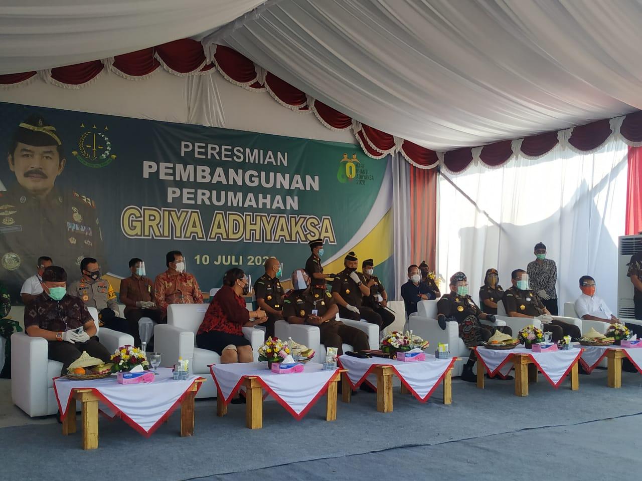 Peresmian Pembangunan Perumahan Griya Adhyaksa oleh Jaksa Agung RI
