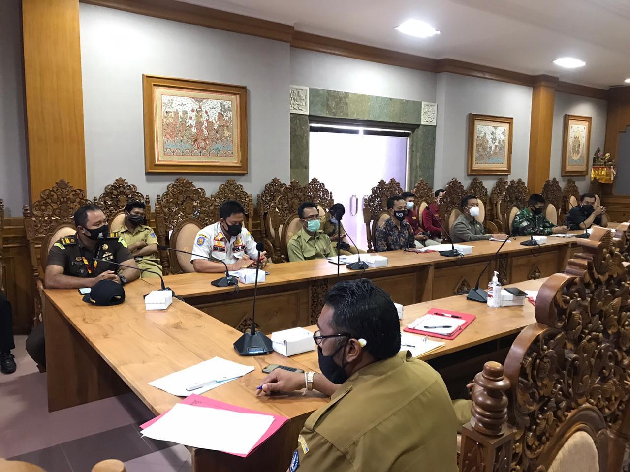Rapat Koordinasi Disiplin dan Penegakan Hukum Protokol Kesehatan Dalam Pilkada 2020