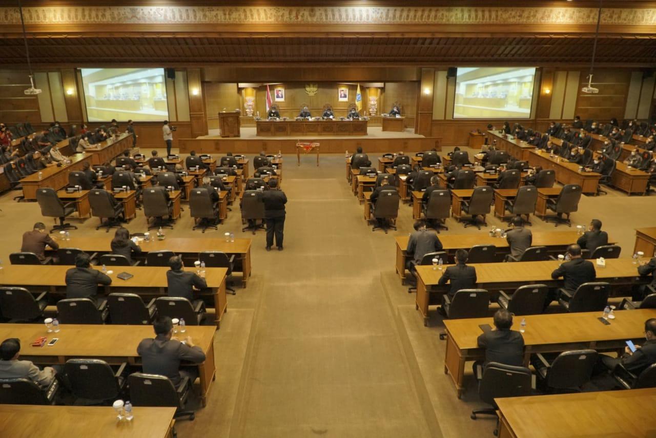Sidang Paripurna Masa Persidangan Ketiga (Penutupan) Tahun 2020