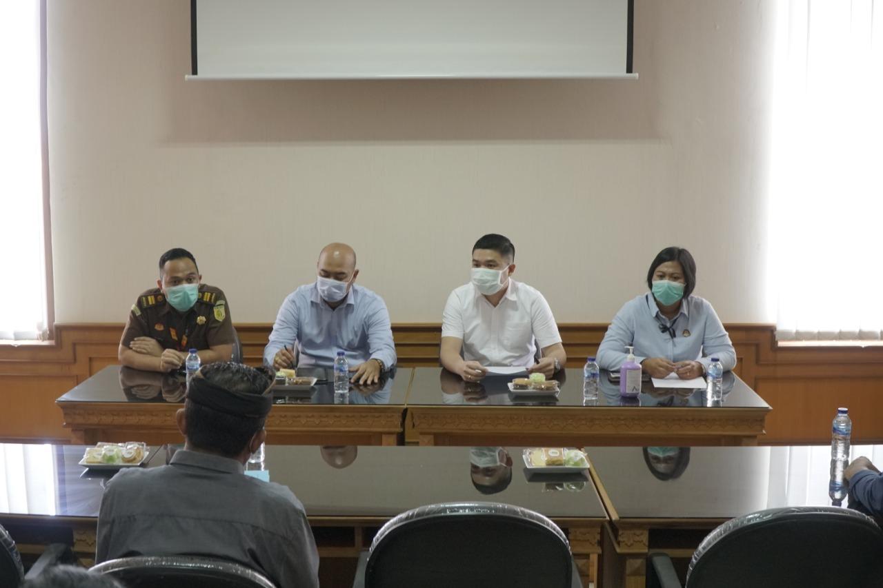 Kegiatan Rapat Terkait Pemaparan Terhadap Pelaksanaan Pendampingan Kegiatan Membran Teknologi Air Antara Bidang Datun Kejari Badung Dengan PDAM